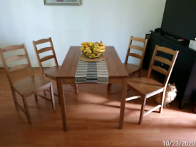 Dinig Table With 4 Chairs