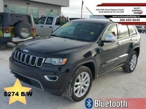 2017 Jeep Grand Cherokee Limited *$274 B/W*