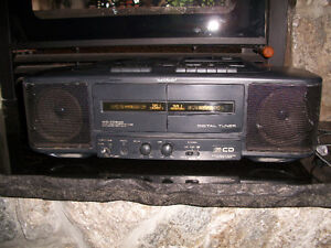 Sharp Portable Stereo,