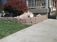 LANDSCAPING  BLOCKS  -   NEW  PRICE