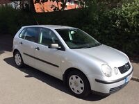 Volkswagen polo 1.4 5dr 2003
