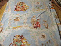 E.T. Extraterrestrial Twin Queen Size BED Sheet Vintage Toy 1982