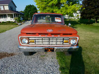 1963 F100 Pickup Truck - Short Box