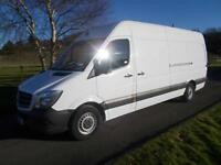 MERCEDES SPRINTER 313 CDI LWB VAN 14 REG 105,000 MILES NEW SHAPE