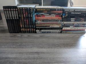 DVD- Series complètes et plus!