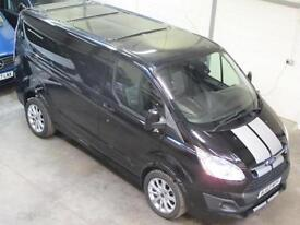 Ford Transit Custom SPORT L1 2.2TDI 155ps in Black ** NO VAT ** * NOW S0LD **