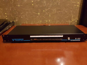 Videoquip 10x1 Stereo Routing Switcher (Model S-101)