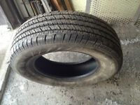 1 PNEU / 1 ALL SEASON TIRE 235/70/17 HANKOOK DYNAPRO