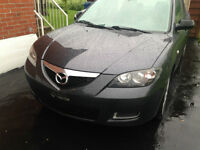 MAZDA 3 GX ANNEE 2007 EXTRA CLEAN AUCUNE ROUILE 137000KLM