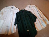 XXLARGE long and short sleeve shirts