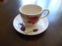 Vintage Emma Bridgewater cup and saucer