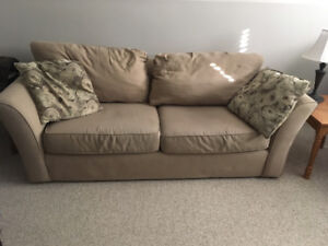 Sofa and chair and a half