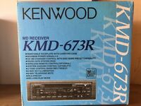 Kenwood Mini Disc Car System
