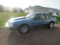 1989 Ford Mustang LX 5.0L