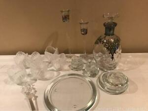 Glass Candleholders And More