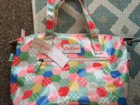 Cath Kidston patchwork bag and purse with tags