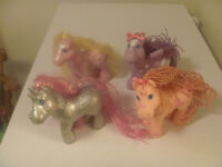 4 Assorted My Little Ponies