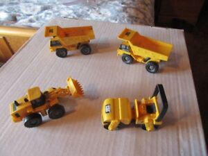 CAT TRACTOR / STEAMROLLER / DUMP TRUCKS
