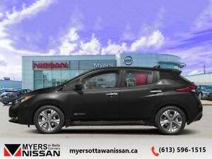 2018 Nissan LEAF SL  - Navigation -  Heated Seats - $267.63 B/W