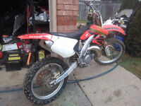 Cr250r new topend..less then 10hrs