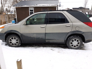 2002 buick rendezvous low kms $1500 obo or try you trade