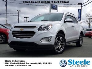 2016 CHEVROLET EQUINOX LTZ - One owner, Trade in, Loaded