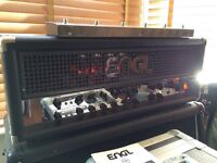 Engl Powerball 100w Guitar Head, Engl Z5 footswitch and fitted flight case
