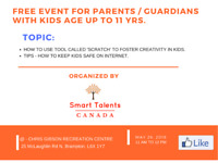 FREE Educational Event for Parents/Guardians in Brampton.
