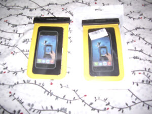 BRAND NEW UNIVERSAL CELL PHONE WATER PROTECTORS FOR SALE 20.99 o