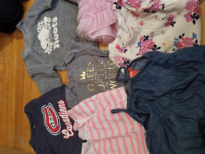Baby girl clothing sizes 18-24 months and 2t