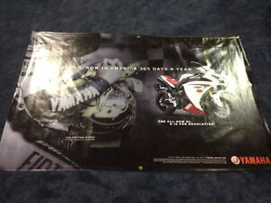 Yamaha R1 / Valentino Rossi Dealer Banner