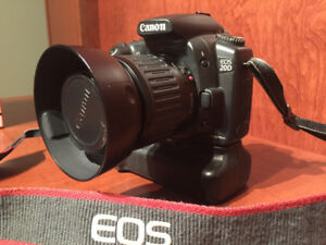 Canon EOS 20D Digital SLR Camera with Battery Grip & Lens