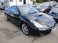 2004 Toyota Celica Coupe 3Dr 1.8 Celica 6Spd Petrol black Manual