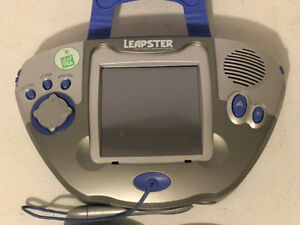 Leap Frog Leapster, with 3 games