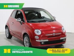 2012 Fiat 500 Lounge MANUELLE CUIR AC GR ELECT MAGS BLUETOOTH