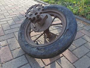 Cast Iron Wheels, Antique farm equipment.