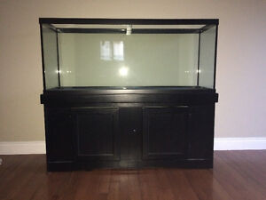 brand New 120 gallon deluxe fish tank with light kit