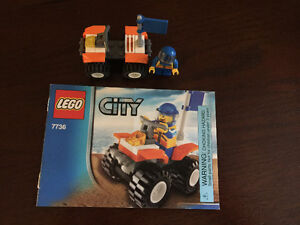 Lego City Coast Guard Quad Bike (7736)