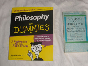 2 Books on Philisophy (Dummies, A History of)