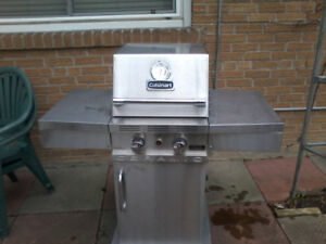 BBQ AND includes 4 new PROPANE TANKSwith 45 pounds of propane.