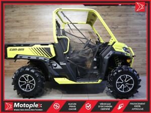 2018 Can-Am Defender HD 1000 XMR  58$/SEMAINE