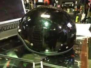HJC CL2 DOT 1/2 Helmet open face motorcycle helmet black $45