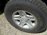 Tires size 265/70 16 (set of 4)