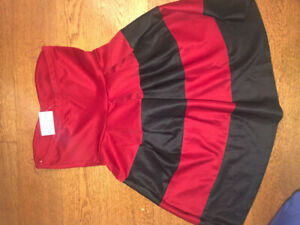 Black and red dress size medium