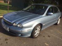 Jaguar X type 3.0 Se automatic awd 54 reg fsh mettalic paint grey leather