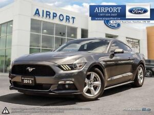 2015 Ford Mustang Fastback V6 with only 26,605 kms