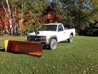 1994 Chev 3/4 ton with plow