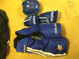 Etobicoke Dolphins hockey equipment