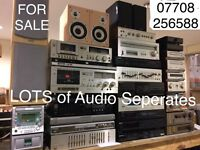 Lots of Audio Separates from £9.99.