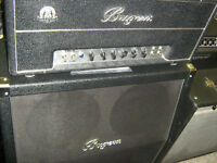 Great selection of amps and guitar pedals.